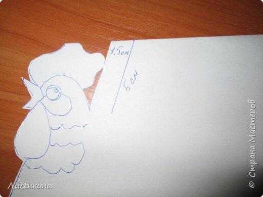"""Здравствуйте дорогие мастера и мастерицы. Хочу представить на конкурс«Встречаем Огненного Петуха» свою работу """"Красный петушок алый гребешок""""  фото 5"""