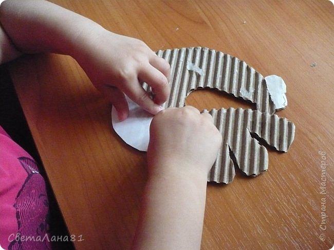 Добрый день Страна! Хотим представить МК по созданию новогоднего петушка-подвески. фото 3