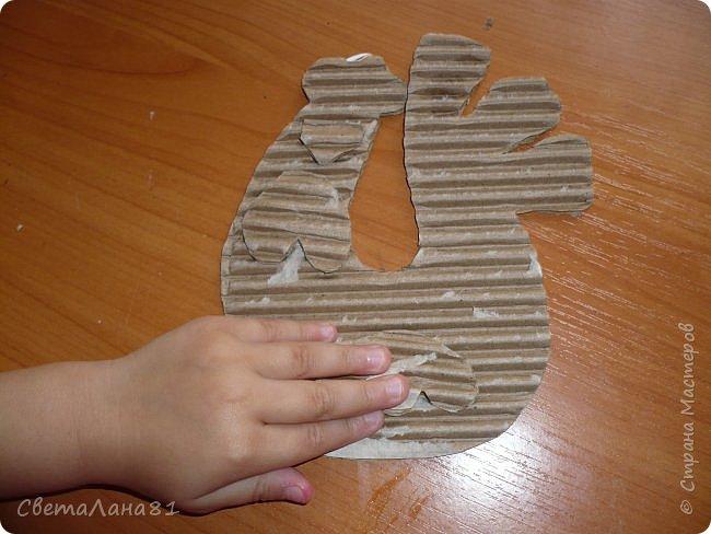 Добрый день Страна! Хотим представить МК по созданию новогоднего петушка-подвески. фото 5