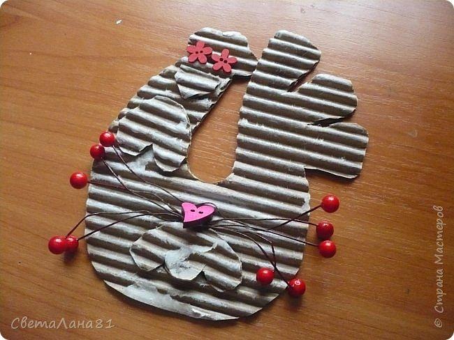 Добрый день Страна! Хотим представить МК по созданию новогоднего петушка-подвески. фото 8