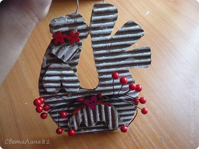 Добрый день Страна! Хотим представить МК по созданию новогоднего петушка-подвески. фото 9