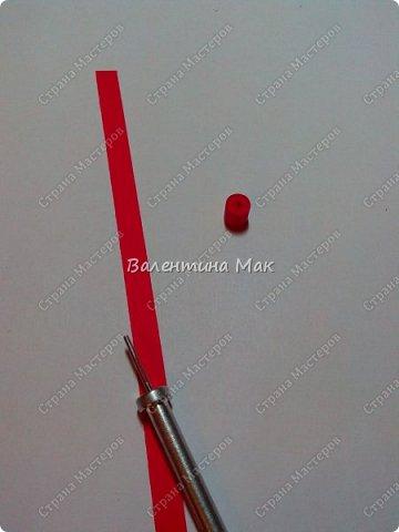 Мой Петушок выполнен в технике квиллинг. Он может быть игрушкой на ёлку или сувениром-магнитиком, или даже брелком! фото 7