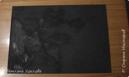 Этот петушок выполнен в технике Граттаж (или как я называю «царапка») фото 5