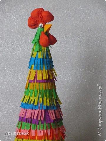 Ку-ка-ре-ку!!!  На столе на новогоднем прячу главный атрибут Угадайте-ка, хозяйки, что во мне гости найдут:)  фото 16