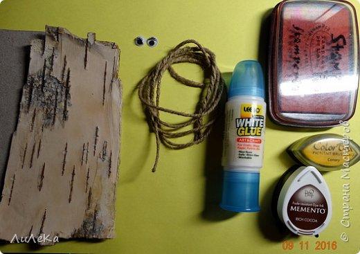 Предлагаю вам сделать ещё одного петушка - берестяного, с пижемской росписью.  фото 2