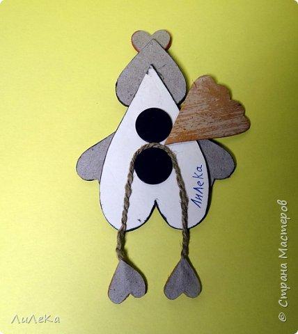 Предлагаю вам сделать ещё одного петушка - берестяного, с пижемской росписью.  фото 13