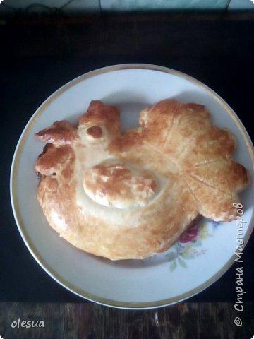 Пирог петушок на новогодний стол. фото 10