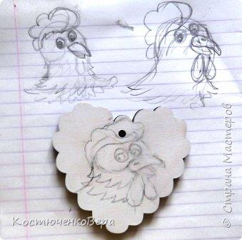Сердечные петушки фото 3