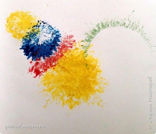 Мой МК скорее всего будет интересен тем, кто не умеет рисовать, но очень хочет. И, конечно же, для малышей. Ведь рисовать мы будем в нетрадиционной технике. фото 10