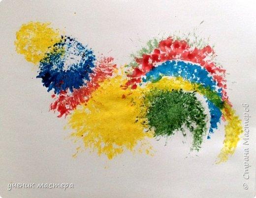 Мой МК скорее всего будет интересен тем, кто не умеет рисовать, но очень хочет. И, конечно же, для малышей. Ведь рисовать мы будем в нетрадиционной технике. фото 16