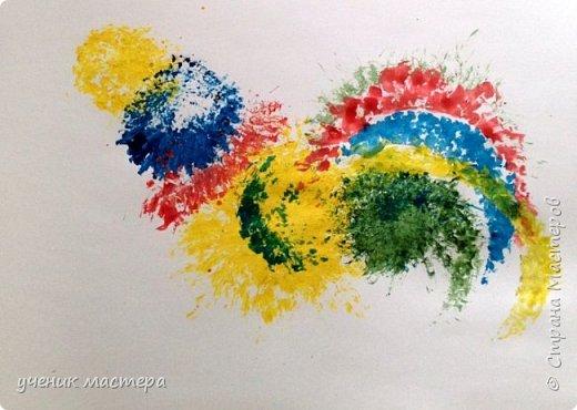 Мой МК скорее всего будет интересен тем, кто не умеет рисовать, но очень хочет. И, конечно же, для малышей. Ведь рисовать мы будем в нетрадиционной технике. фото 18