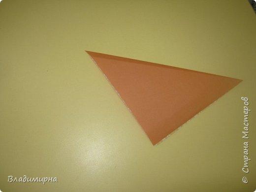 Вот такие петушки для елки получились у Ани, Вари и Ксюши из бумаги для оригами.  фото 3