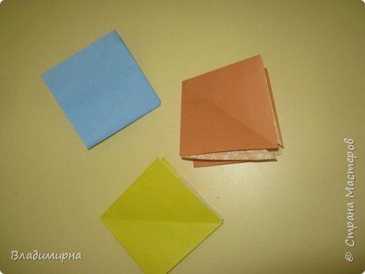 Вот такие петушки для елки получились у Ани, Вари и Ксюши из бумаги для оригами.  фото 4