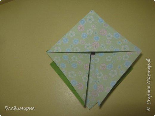 Вот такие петушки для елки получились у Ани, Вари и Ксюши из бумаги для оригами.  фото 5