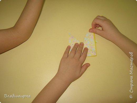 Вот такие петушки для елки получились у Ани, Вари и Ксюши из бумаги для оригами.  фото 7