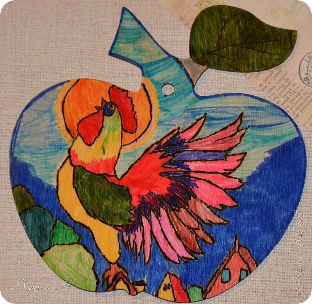 Не так давно мы прочитали сказку А.С. Пушкина о золотом петушке, поэтому решили показать Вам, как представляем его. фото 1