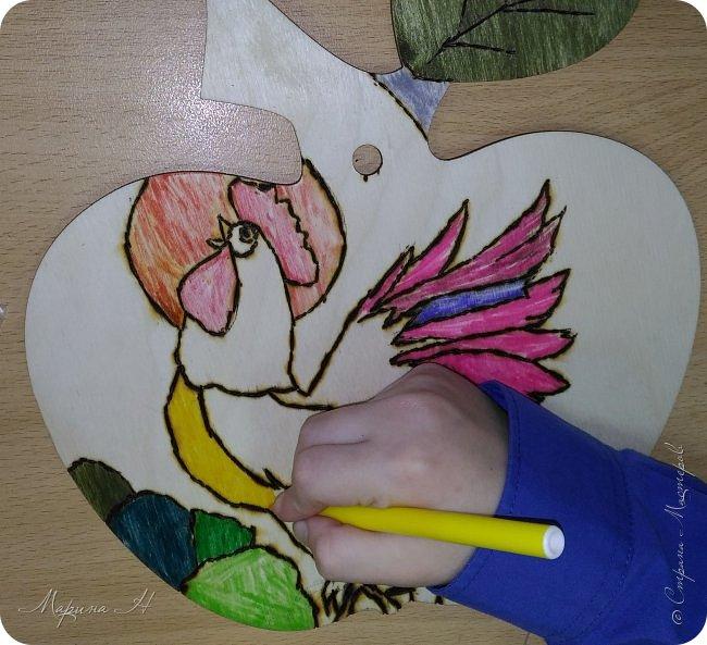 Не так давно мы прочитали сказку А.С. Пушкина о золотом петушке, поэтому решили показать Вам, как представляем его. фото 8
