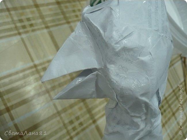 Добрый день Всем! Хочу представить МК по изготовлению петушка новогоднего винтажного фото 11