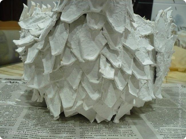 Добрый день Всем! Хочу представить МК по изготовлению петушка новогоднего винтажного фото 20