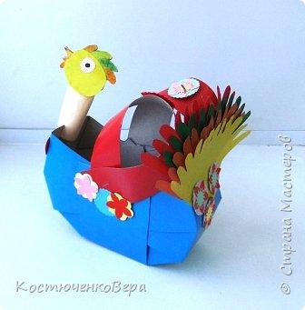 Сделаем новогодние корзинки. В них можно насыпать конфет или положить ёлочные игрушки. фото 20