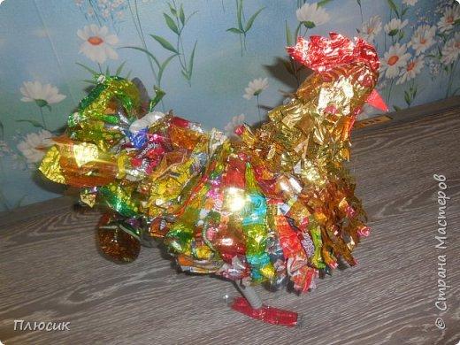 Наш осенний Петушок -  Золотые перышки, Ярко красный гребешок На шальной головушке. фото 15