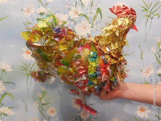 Наш осенний Петушок -  Золотые перышки, Ярко красный гребешок На шальной головушке. фото 14