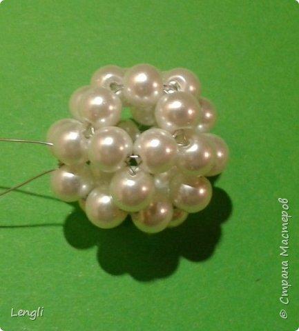 Мой новогодний петушок из бусинок. фото 14