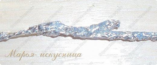 """Мой веселый """"Серебряный петушок"""" прост в изготовлении, может быть украшением елки и частью настольной композиции. фото 8"""