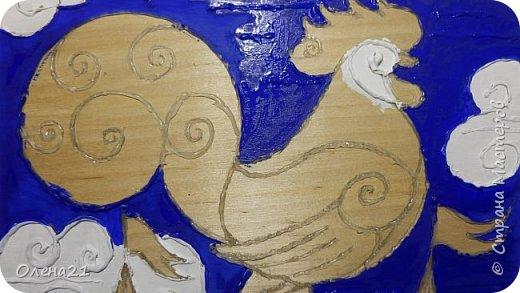 """Моя работа выполнена по мотивам """"Сказки о золотом петушке"""" А.С. Пушкина.   фото 7"""