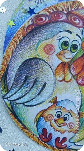 Вот такая семейная новогодняя открытка получилась у меня: фото 23