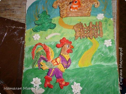"""После объявления конкурса - первая мысль """"Книжка с петушком"""". Так называли книгу """"Русских народных сказок"""" все мои дети, пока не умели читать. фото 17"""
