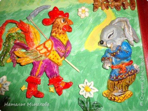 """После объявления конкурса - первая мысль """"Книжка с петушком"""". Так называли книгу """"Русских народных сказок"""" все мои дети, пока не умели читать. фото 1"""