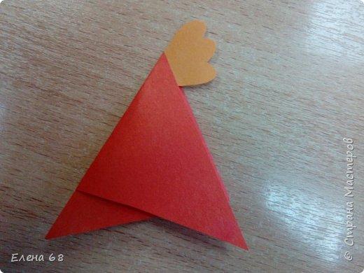 """В школе открылась """"Мастерская Деда Мороза"""". И мы решили, что первой работой должен быть символ Нового Года. Петушок. фото 8"""