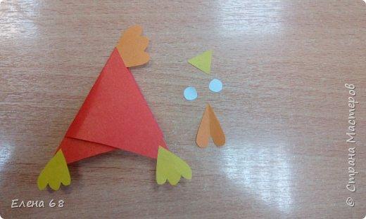 """В школе открылась """"Мастерская Деда Мороза"""". И мы решили, что первой работой должен быть символ Нового Года. Петушок. фото 9"""