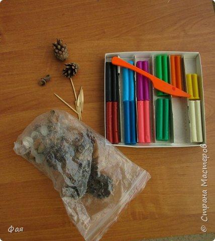 Принимайте осеннего петушка! Сделан он из даров осени. фото 2
