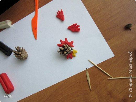 Принимайте осеннего петушка! Сделан он из даров осени. фото 4