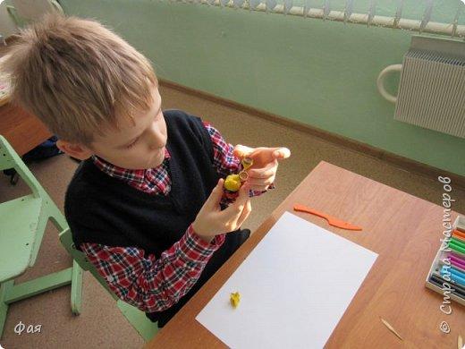 Принимайте осеннего петушка! Сделан он из даров осени. фото 8