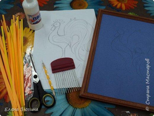 Для своей работы Алина выбрала сказку Александра Сергеевича Пушкина и изобразила волшебного золотого петушка. фото 2