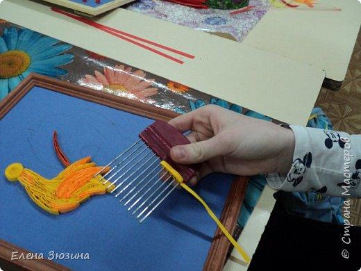 Для своей работы Алина выбрала сказку Александра Сергеевича Пушкина и изобразила волшебного золотого петушка. фото 5