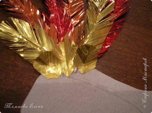 """""""Золотой петушок! """" Эти слова живут с нами с самого раннего детства. Сначала это  потешки и пестушки """"Петушок, петушок, золотой гребешок"""", ну, а потом и петушок из сказки А.С. Пушкина. Вот и у Ангелины появился петушок, да не простой, а огненно-золотой. фото 6"""