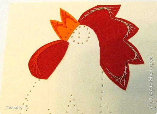 Наступает год огненного петуха, решено было сделать его в красно-желтом цвете. фото 7