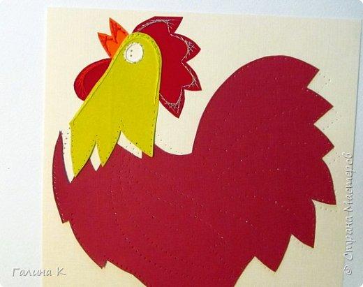 Наступает год огненного петуха, решено было сделать его в красно-желтом цвете. фото 8