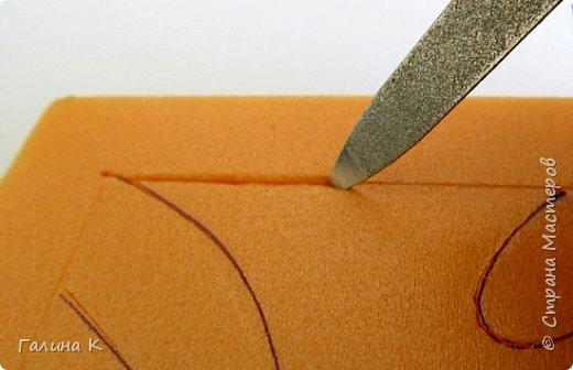 Этот петушок выполнен из маленьких кусочков ткани в технике кинусайга.  фото 7