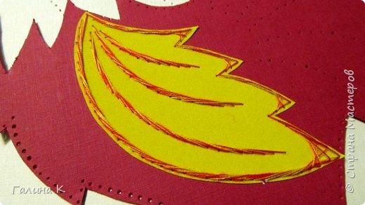 Наступает год огненного петуха, решено было сделать его в красно-желтом цвете. фото 13