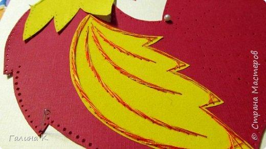 Наступает год огненного петуха, решено было сделать его в красно-желтом цвете. фото 14