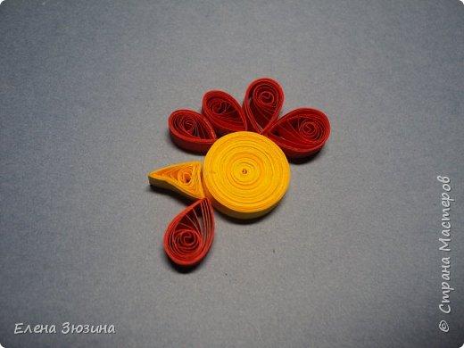 Для своей работы Алина выбрала сказку Александра Сергеевича Пушкина и изобразила волшебного золотого петушка. фото 10