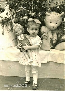 Добрый день! Детство- самое счастливое время, рядом любящие тебя родители молодые и здоровые... Во все времена и в любой стране девочки играют в кукол. фото 2