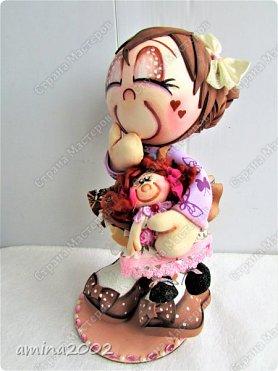 Добрый день! Детство- самое счастливое время, рядом любящие тебя родители молодые и здоровые... Во все времена и в любой стране девочки играют в кукол. фото 1