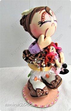 Добрый день! Детство- самое счастливое время, рядом любящие тебя родители молодые и здоровые... Во все времена и в любой стране девочки играют в кукол. фото 9