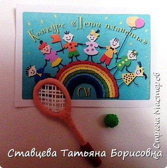 Знакомьтесь - это Машенька, и в любую погоду она очень любит заниматься теннисом на теннисных кортах.  фото 18